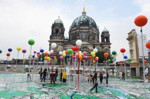 """Ausstellungen zum Jubiläum """"775 Jahre Berlin""""   Foto: dpa"""