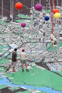 """Ausstellung """"Stadt der Vielfalt""""   Foto: dpa"""