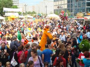 Weltspieltag am Alexanderplatz