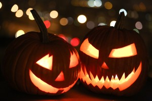 Grinsender Halloween Kürbis | Foto: dpa