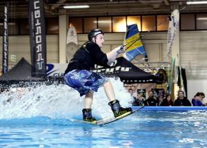 Wakeboarding auf der BOOT & FUN BERLIN