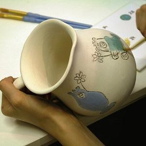 Keramik bemalen bei Potterichen | Foto: Potterinchen