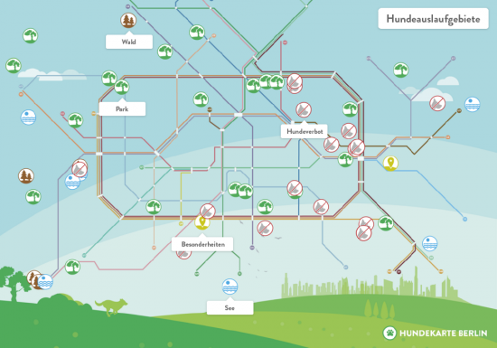 Die Hunde Map für Berlin | Foto: Pets Deli
