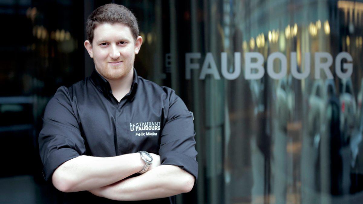 Felix Mielke, Chef de Cuisine im Gourmet-Restaurant Le Faubourg | Foto: Jarek Raczek