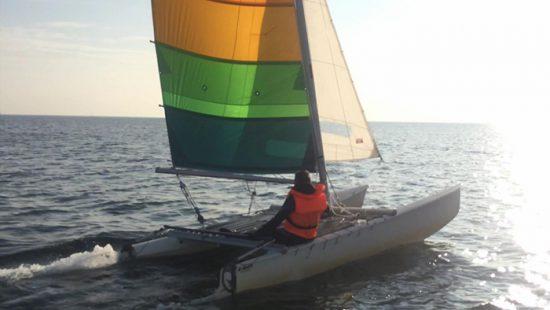 Katamaran-Segeln auf der Ostsee