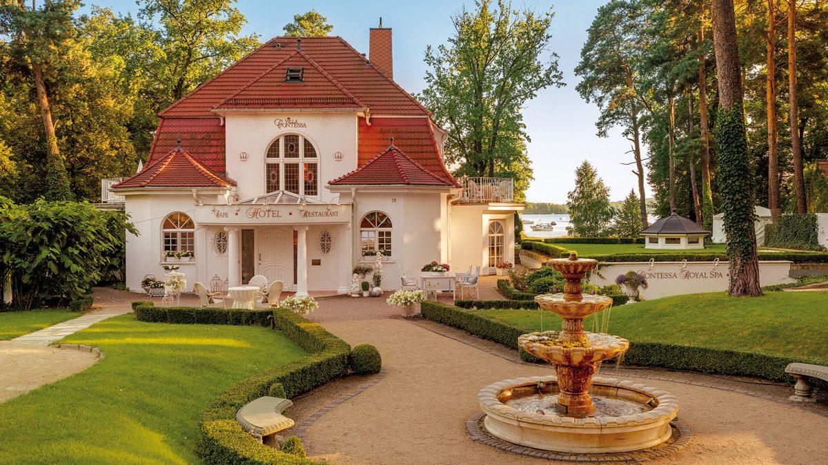 Die Villa Contessa - Deutschlands kleinstes First Class Hotel am Scharmützelsee in Brandenburg | Foto: Villa Contessa