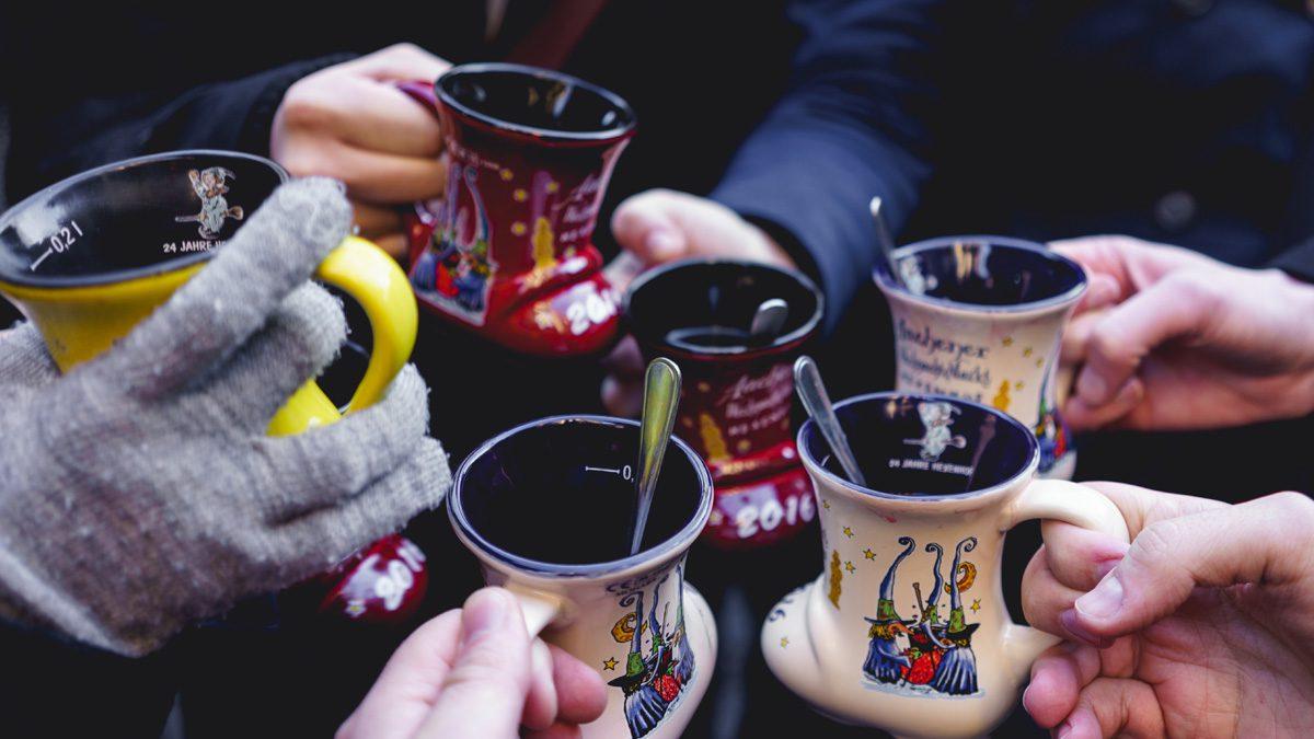 Glühwein und die besten alternativen weihnachtsmärkte in Berlin 2018