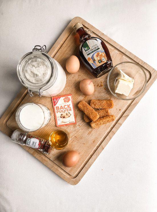 """Chicken in Waffles - Zutaten für das Rezept aus dem Top10 Berlin Kiezkochbuch """"Aus Kiez und Küche - So Isst Berlin"""""""