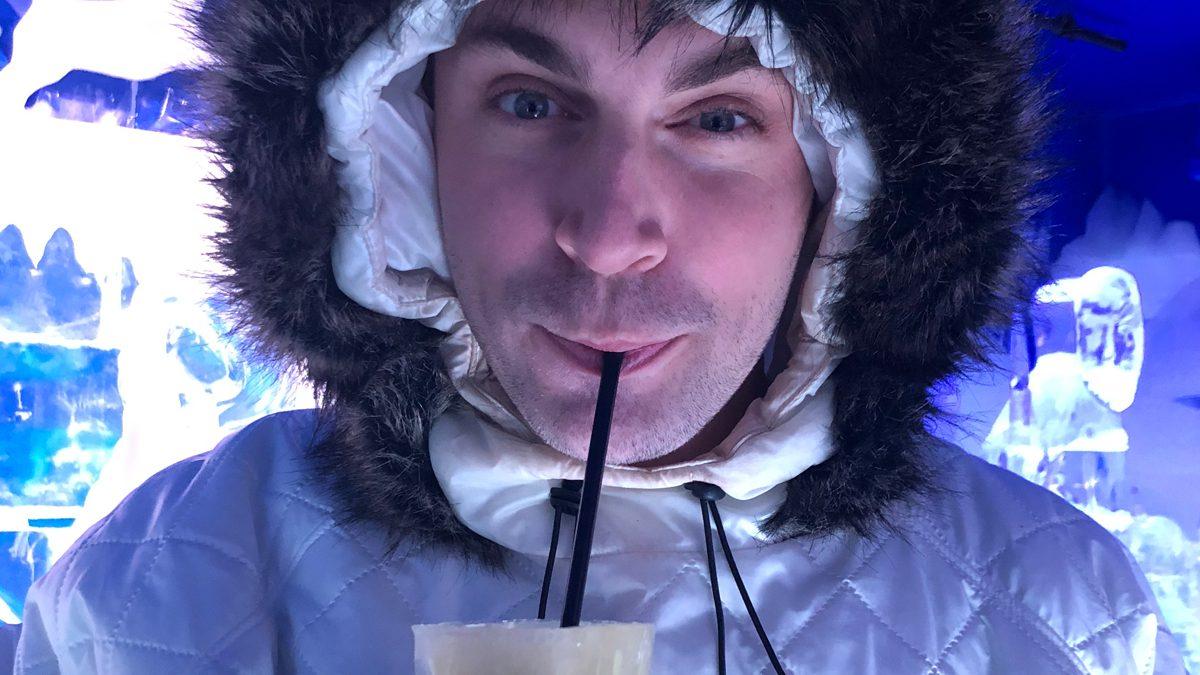 Top10 Berlin zu Besuch in der Angiyok Icebar Berlin - Deutschlands erste Eisbar